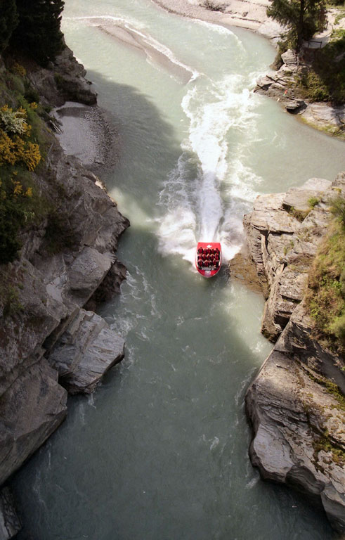 Jet boating, Queenstown Photo credit:  Brian Snelson
