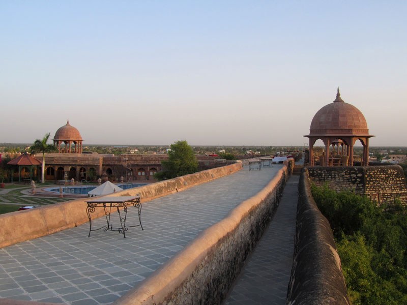 Khimsar Fort Photo credit: Rustom Katrak