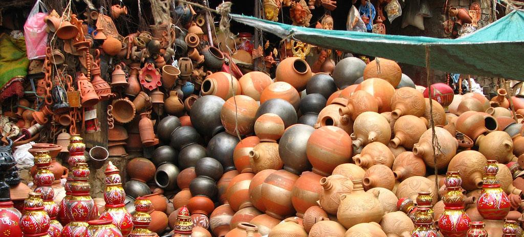 Pottery Stall, Jaipur Photo credit:  McKay Savage