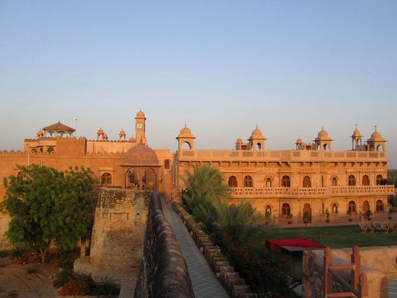 Khimsar Fort, Jodhpur Photo credit: Rustom Katrak