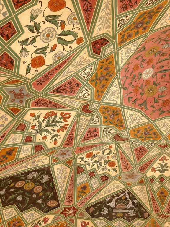 Inlay work at Amber Fort, Jaipur Photo credit:  C.K. Tse