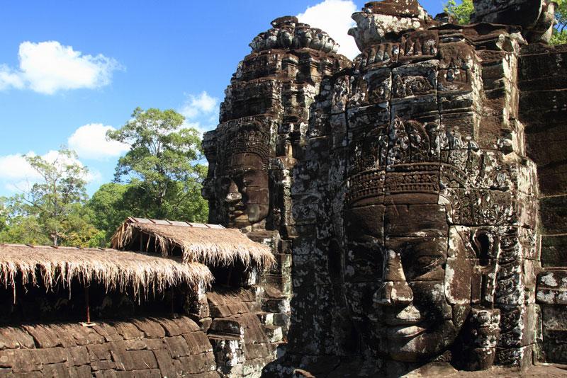Bayon Temple, Angkor Photo credit:  Harald Hoyer