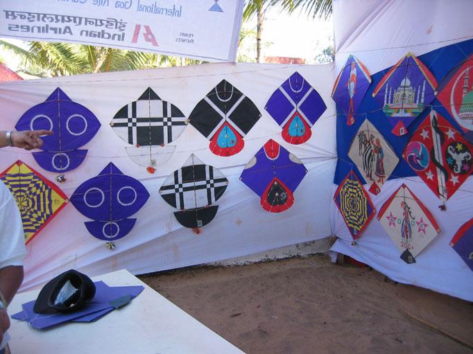 Tukkals  and other kites by Babu Khan Photo courtesy Ajay Prakash