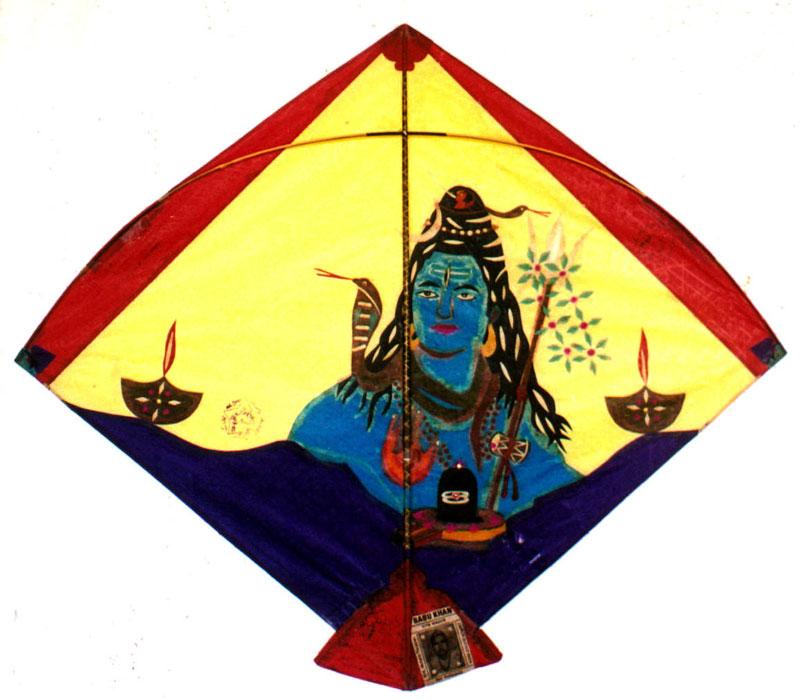 A Shiva kite by Babu Khan   Photo courtesy: Ajay Prakash