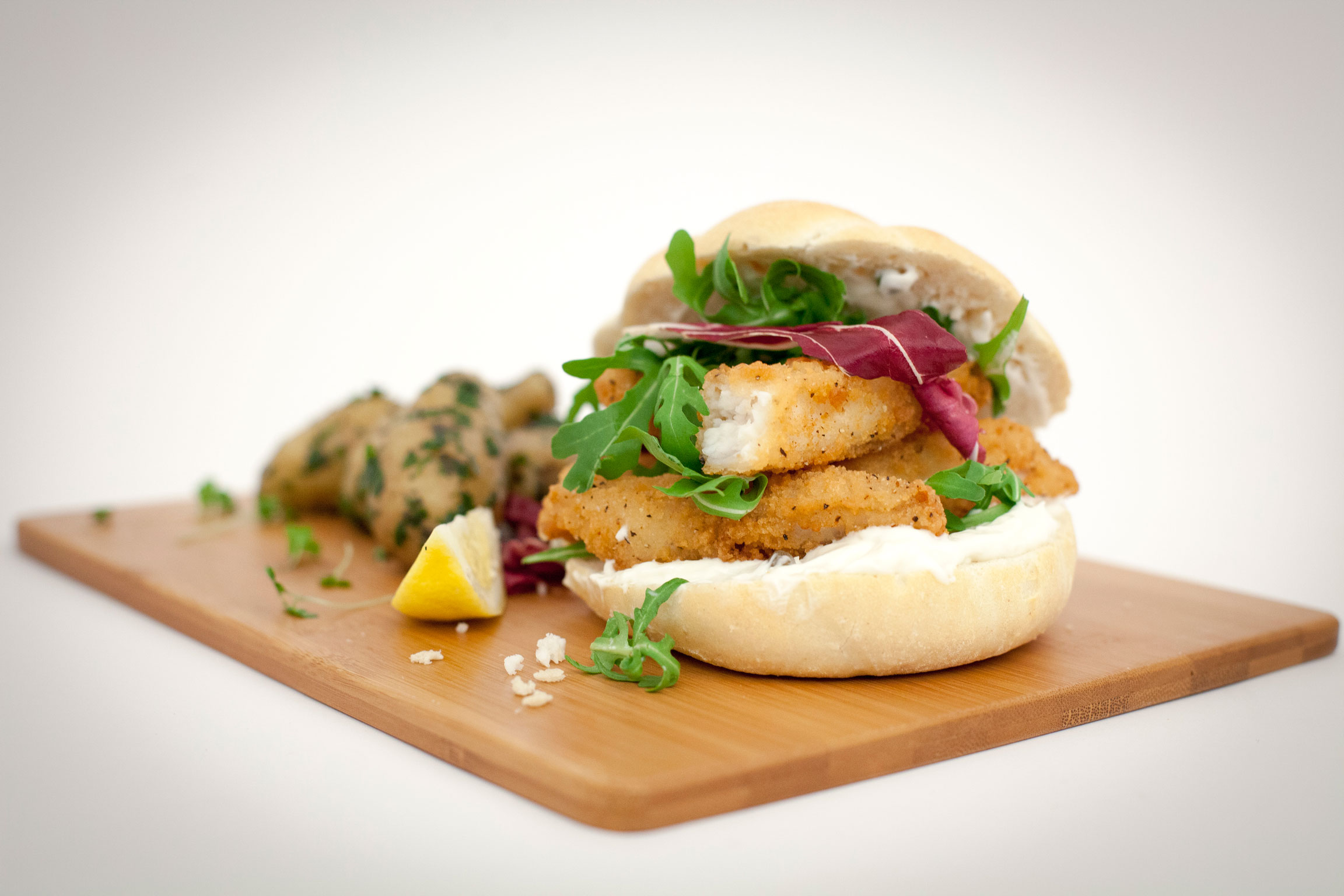 Whitby Seafoods mega sandwich, which is making me hungry.