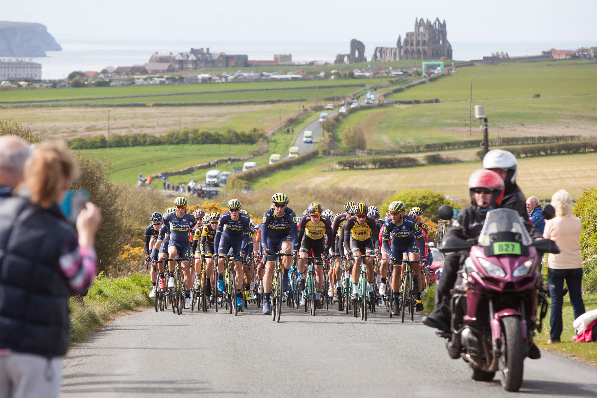 The TDY Peleton on outskirts of Whitby.