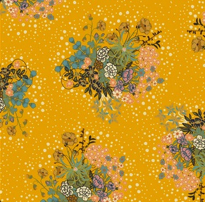 Fabric: 100% Cotton Voile, Art Gallery Voile - Praline Honey from  The Village Haberdashery