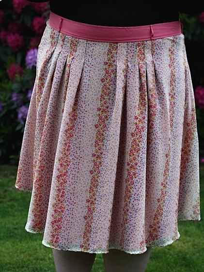Skirt front
