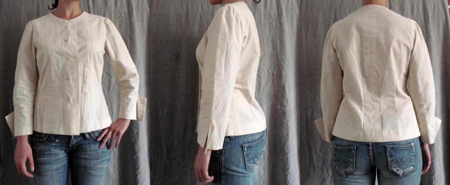 A jacket toile