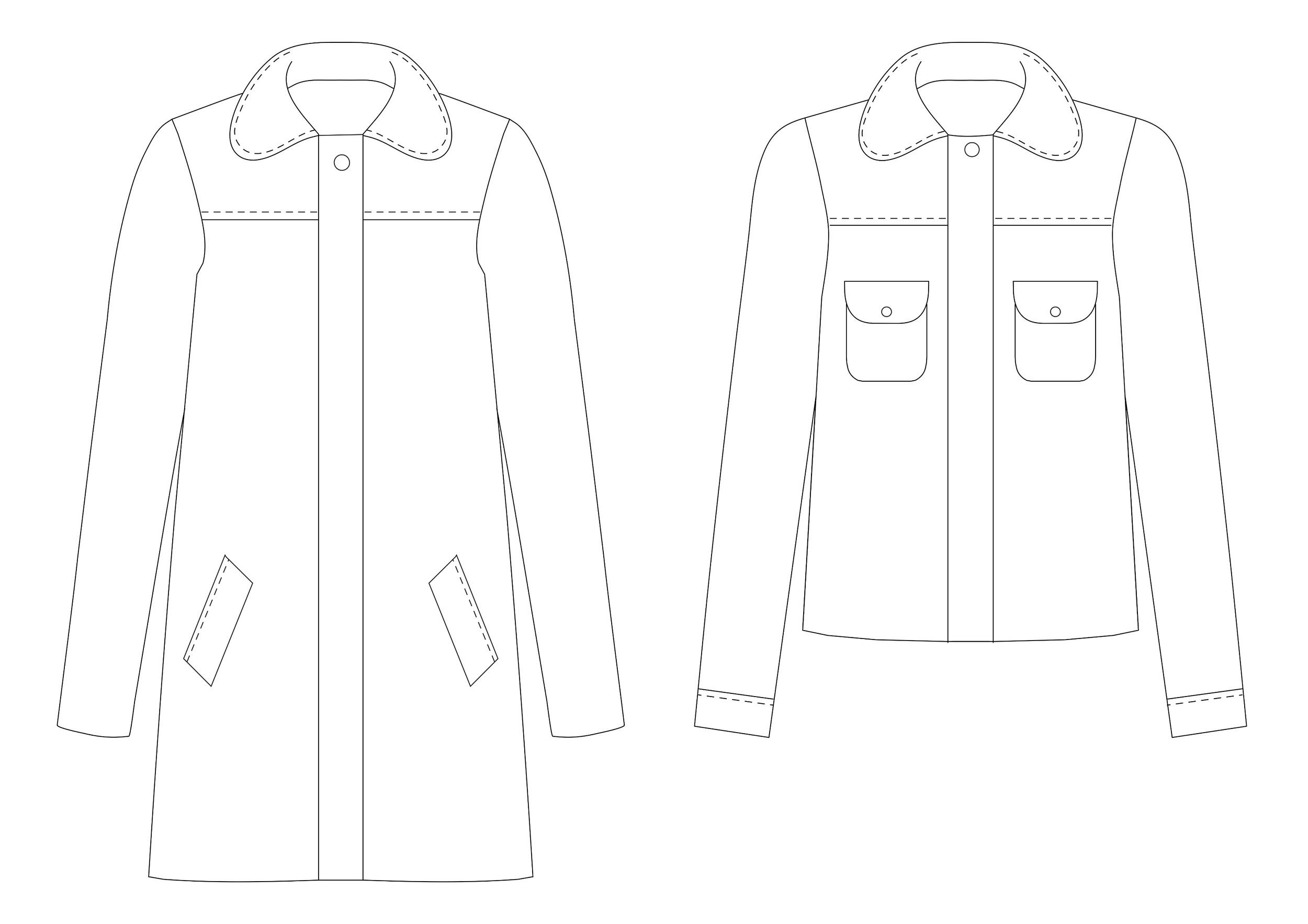 Cascade duffle coat 2 style variations.jpg