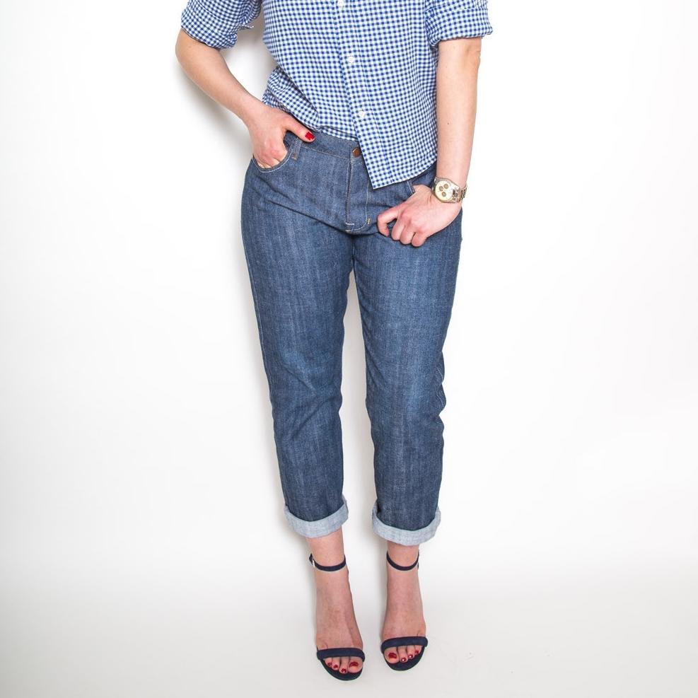 OPTION 3  Morgan Boyfriend Jeans  by Closet Case Files (women's)