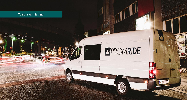 Dein Tourbus findest du bei Prom Ride - der Tourbusvermietung in Berlin
