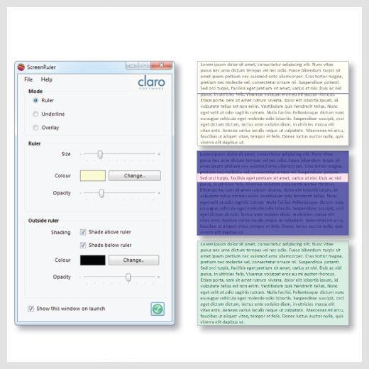 ScreenRuler Suite software