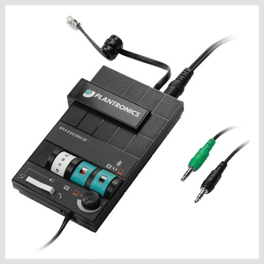 Plantronics MX-10 telephone switch