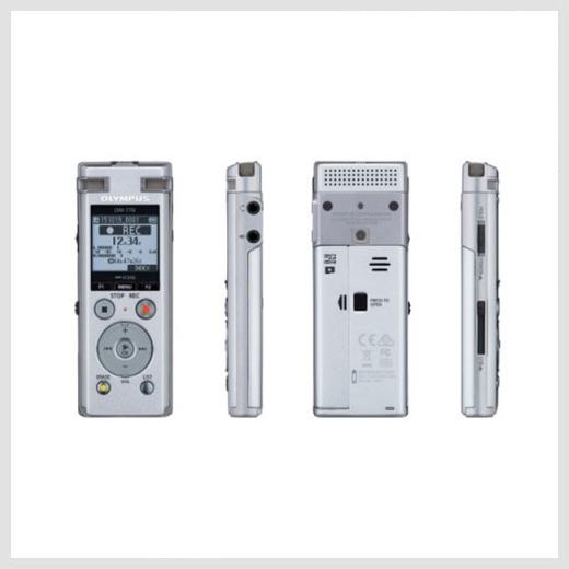 Olympus DM-770 digital recorder preview