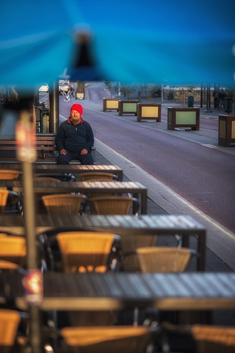 Street Portrait, Fremantle - Piotrek Ziolkowski, 2013