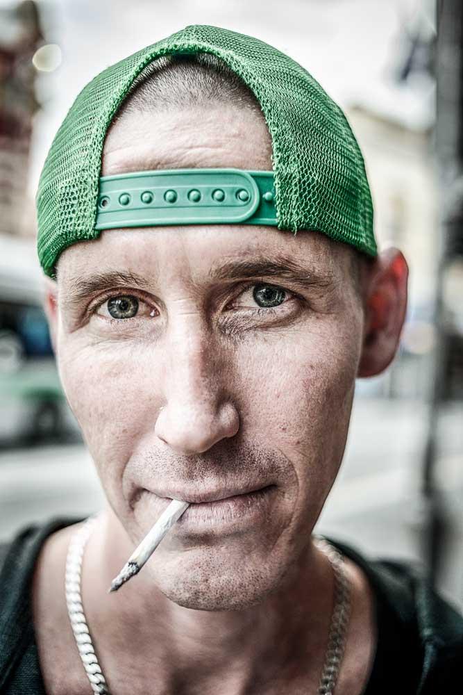 Street portrait, © Piotrek Ziolkowski
