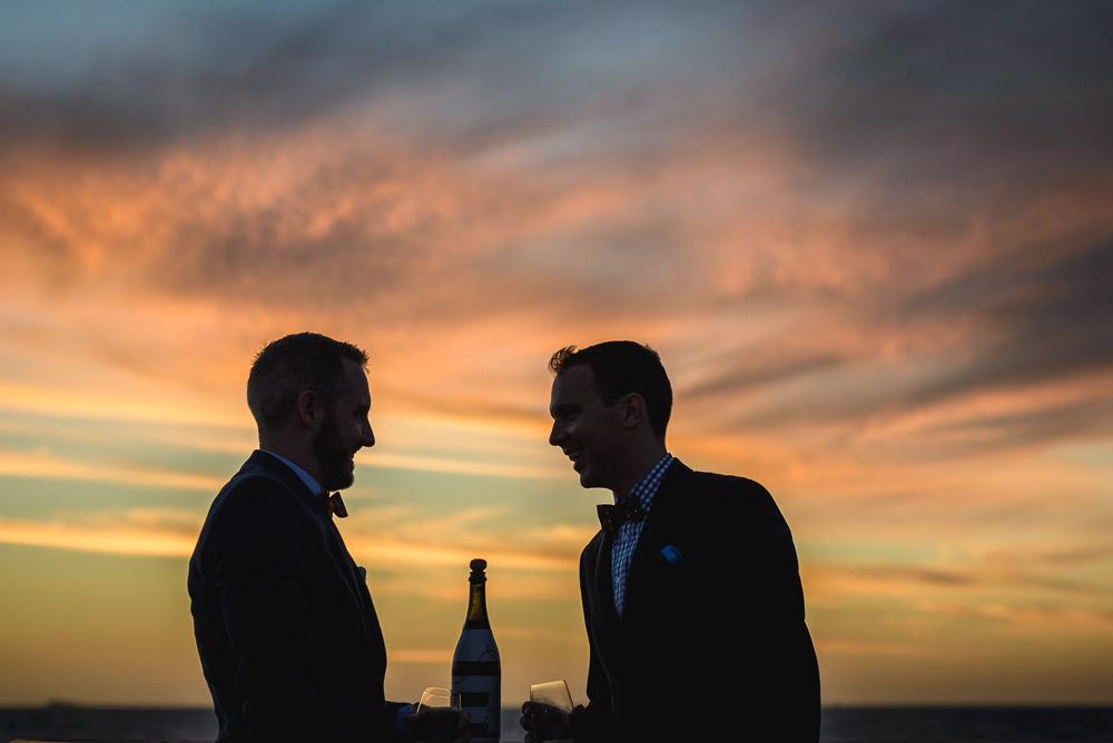 Ollie and Jono / British Consulate Marriage