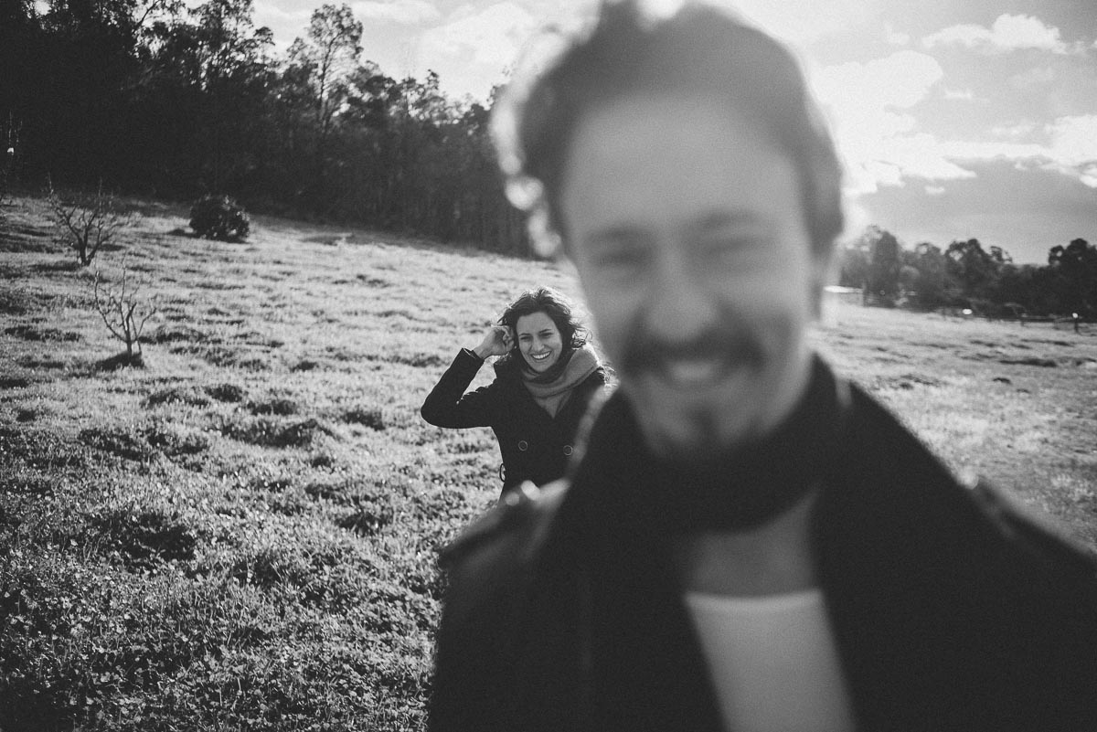 In the Hills / Be yourselves session / Fran and Isaac