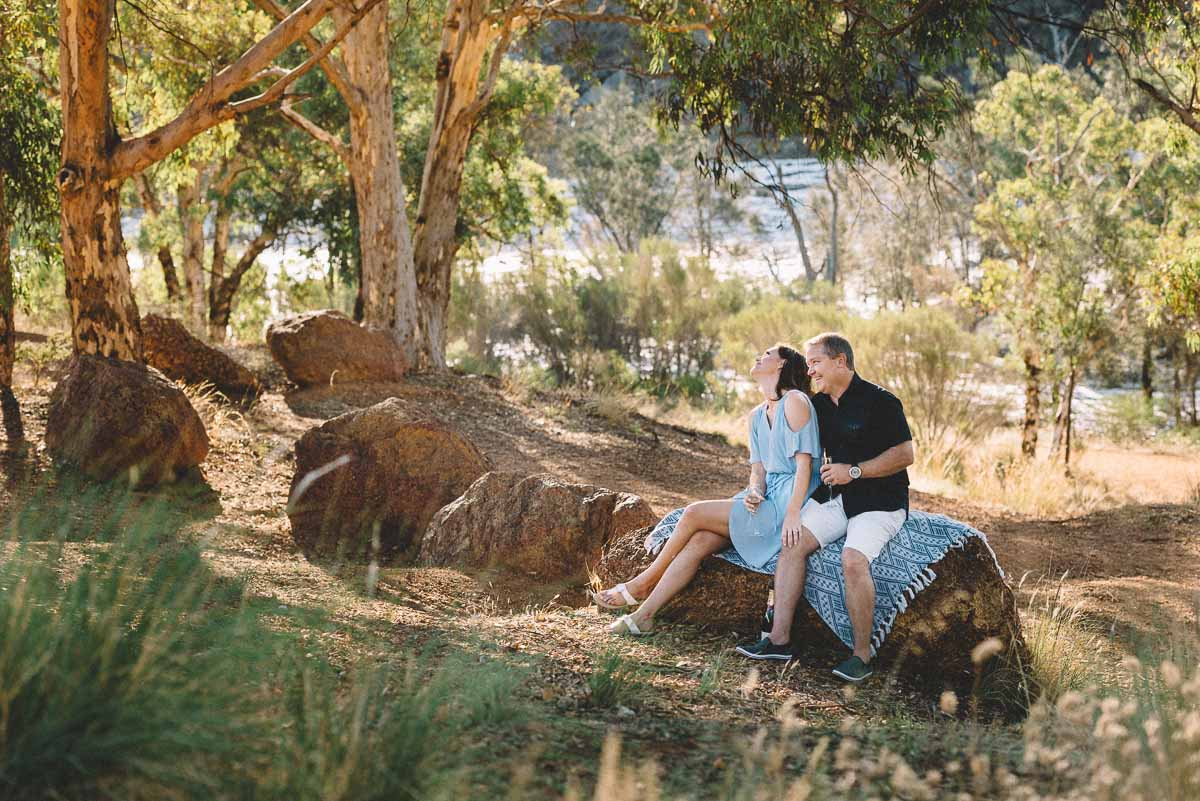 Swan Valley Engagement Session / Clare and Stew