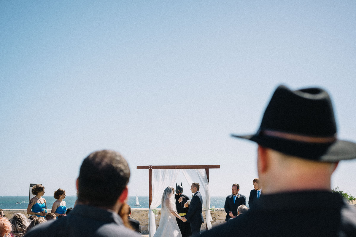 Quirky wedding in Fremantle