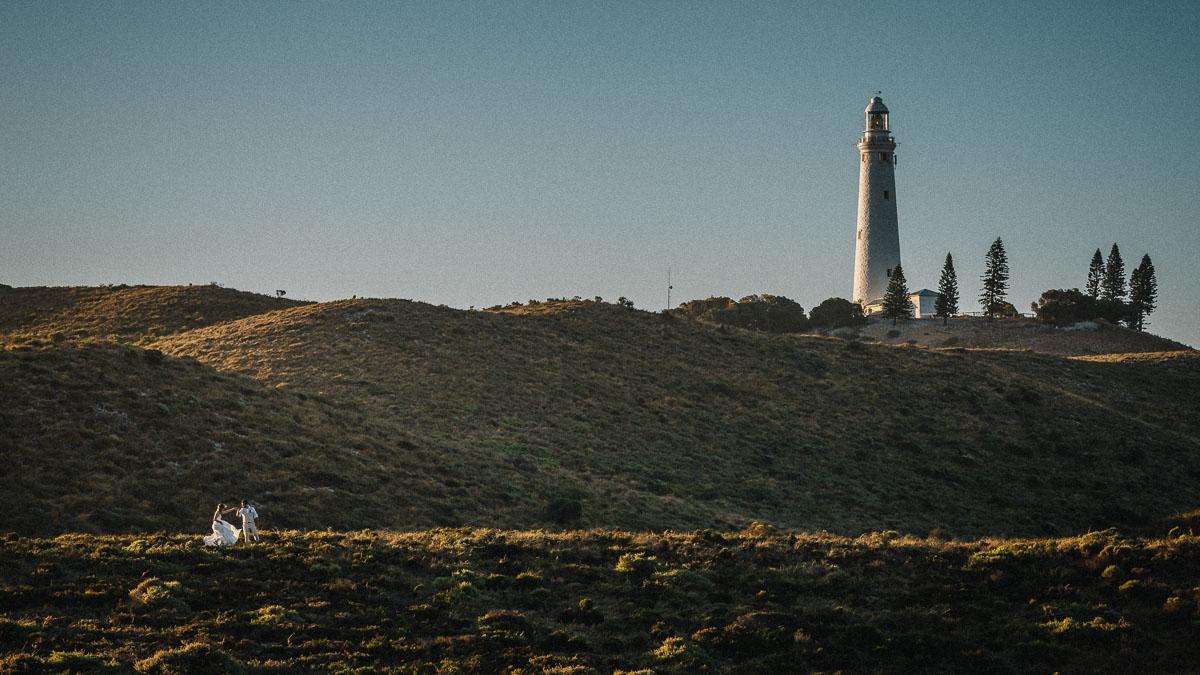 Rottnest Island Elopement / complete freedom