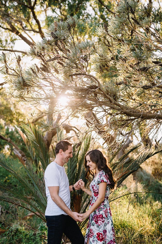 Natural engagement photography / Dalkeith