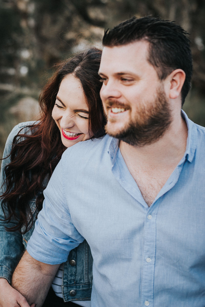 Candid Engagement Session in South Fremantle