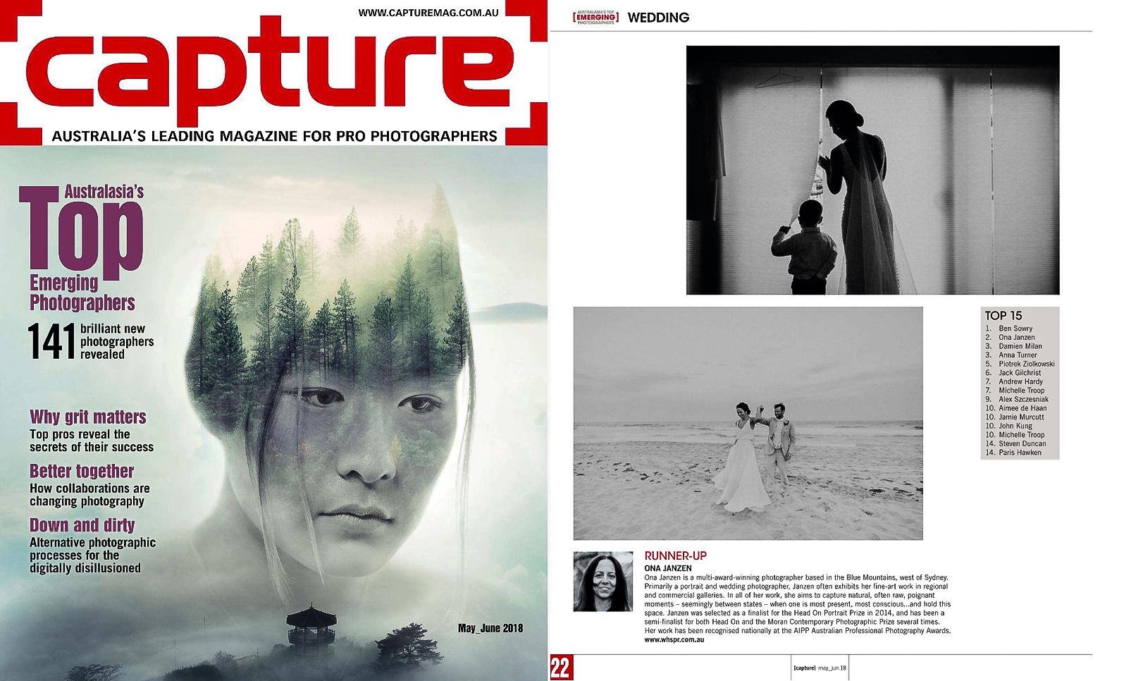 Australasia's Top Emerging Wedding Photographers 2018