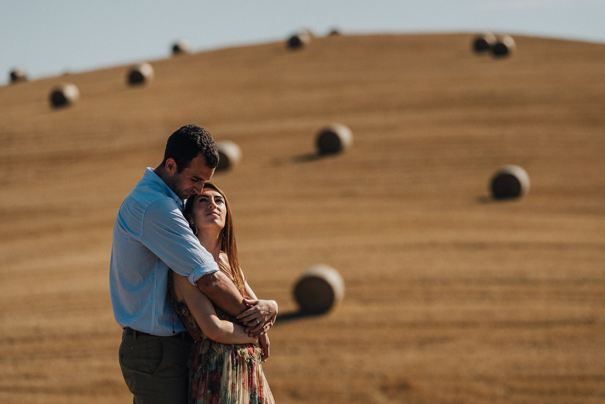 Tuscany Pre Wedding Session in Pienza