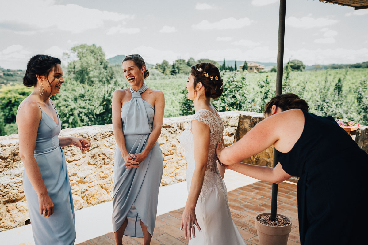Amazing destination wedding in Tuscany
