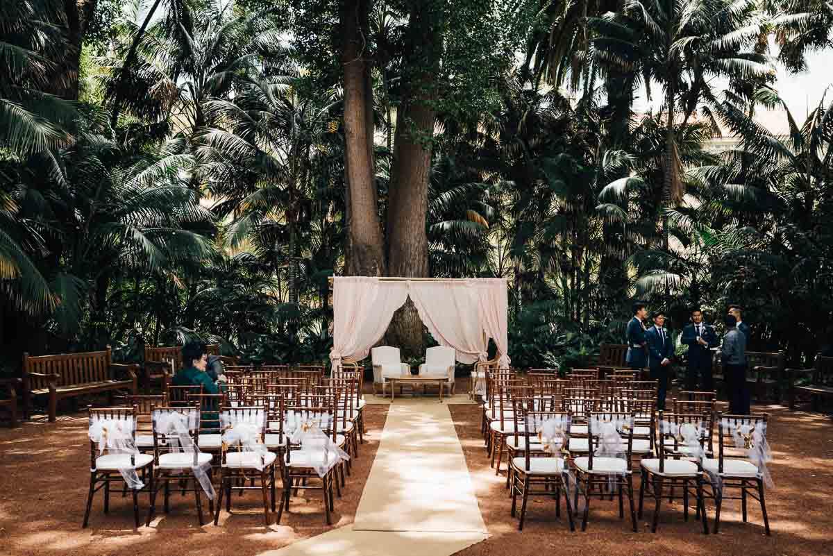 Garden Wedding at University of Western Australia