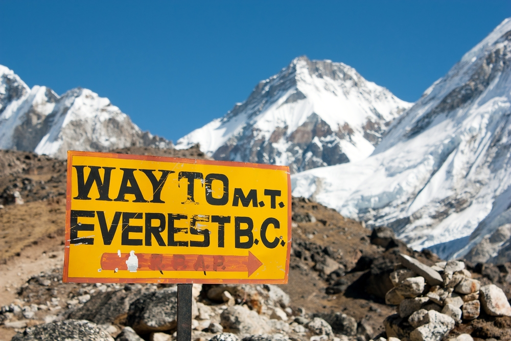 Everest- the ultimate fitness bucket list experience