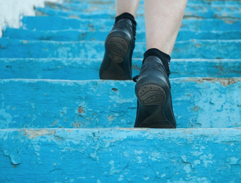 Ready for a new challenge? Try running up dozens of flights of stairs in a Vertical Marathon!