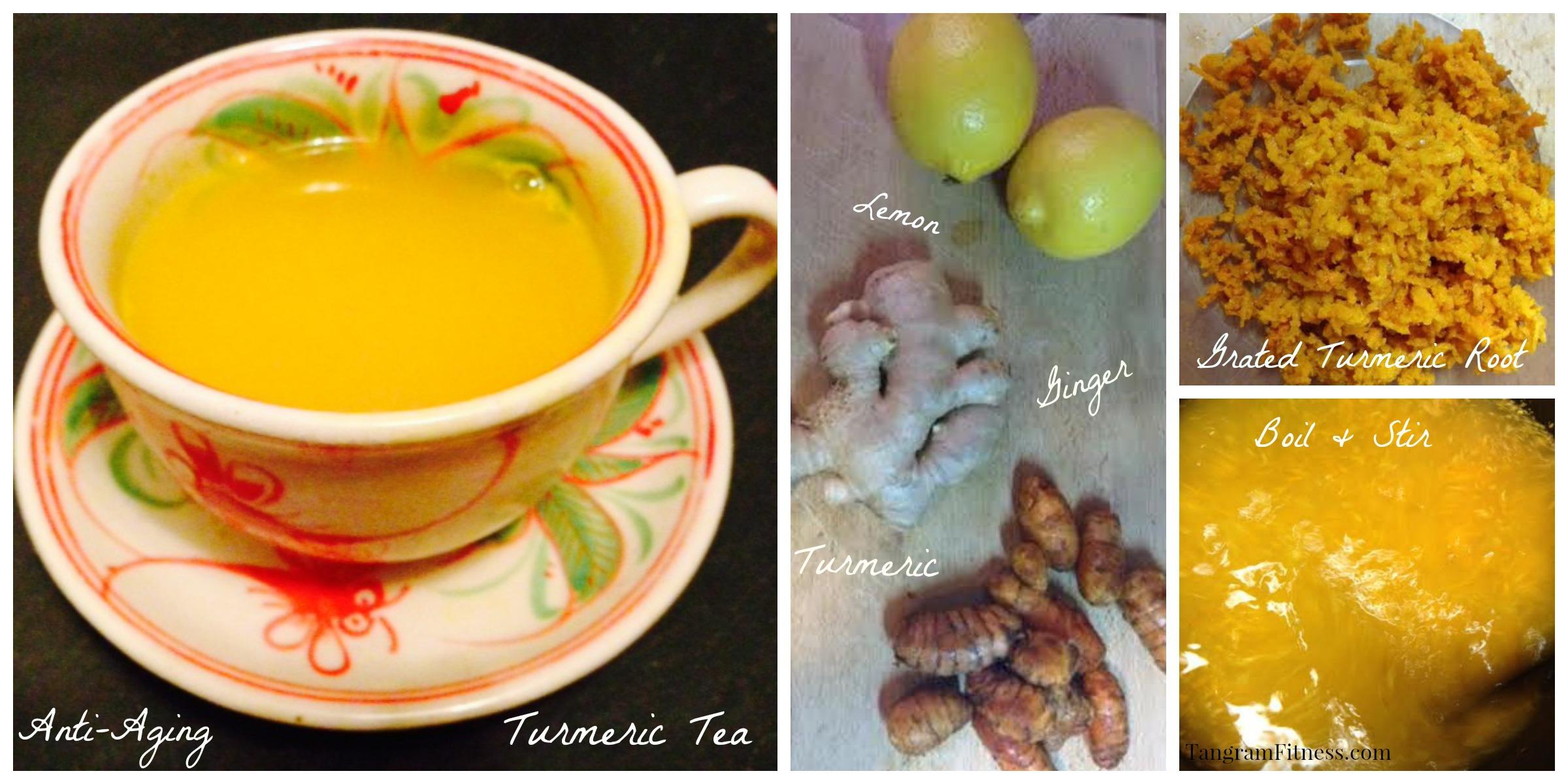 Home Brewed Turmeric Tea