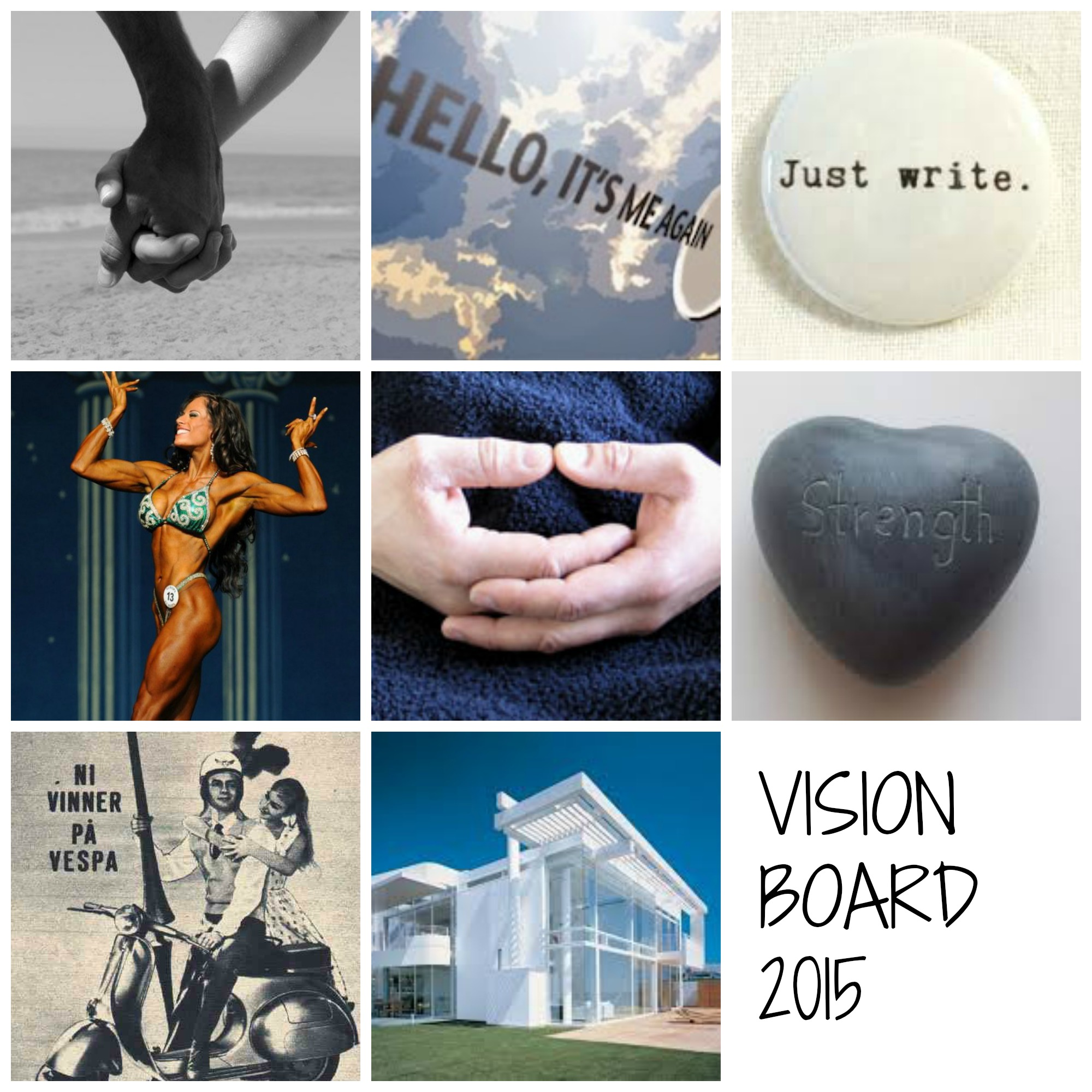 My 2015 Digital Vision Board