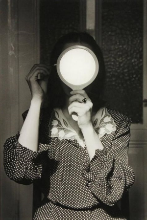 Artist: Andre Gelpe, Christine au Mirior,1976