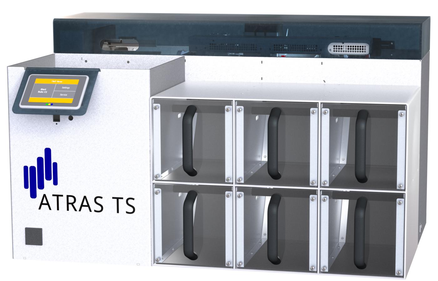 ATRAS TS bulk loader sorter preanalytics