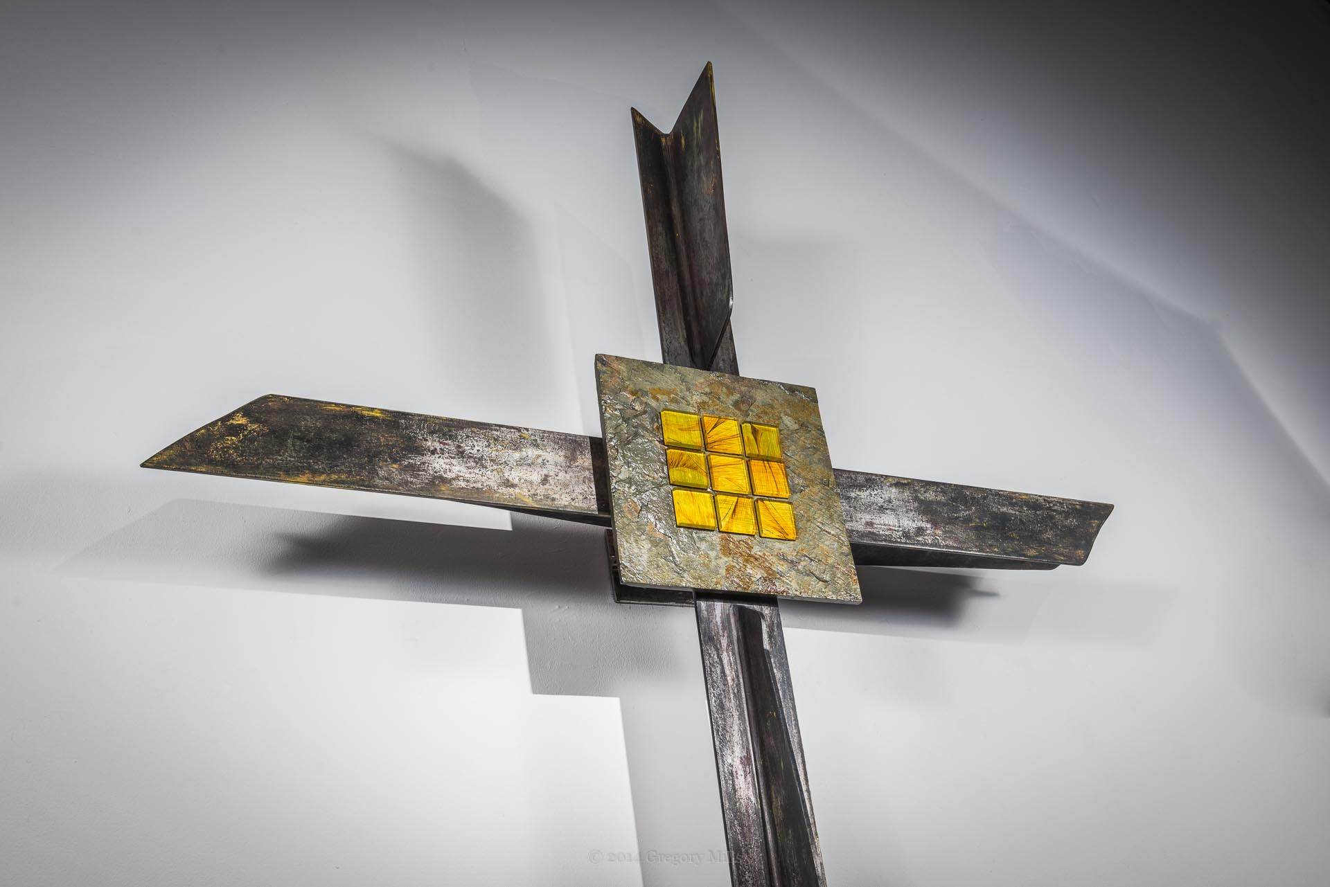 Cross Honors Those Who Built the Education Building