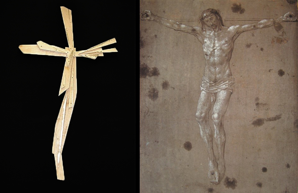 Figure of Chirst in This Cross