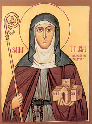 Our very own St. Hilda.