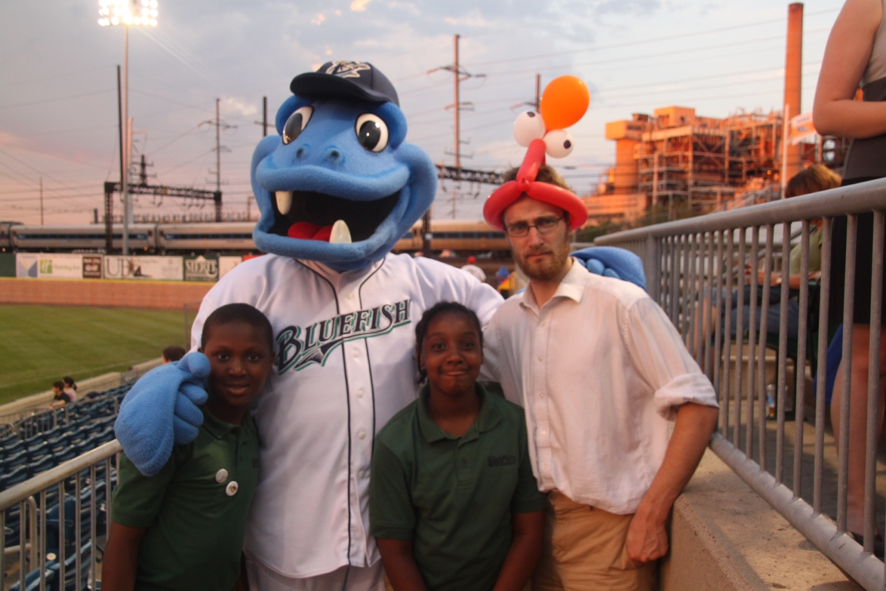 Strange as it might seem, the context of theology can be enjoying a minor league baseball game with some wonderful fifth graders.