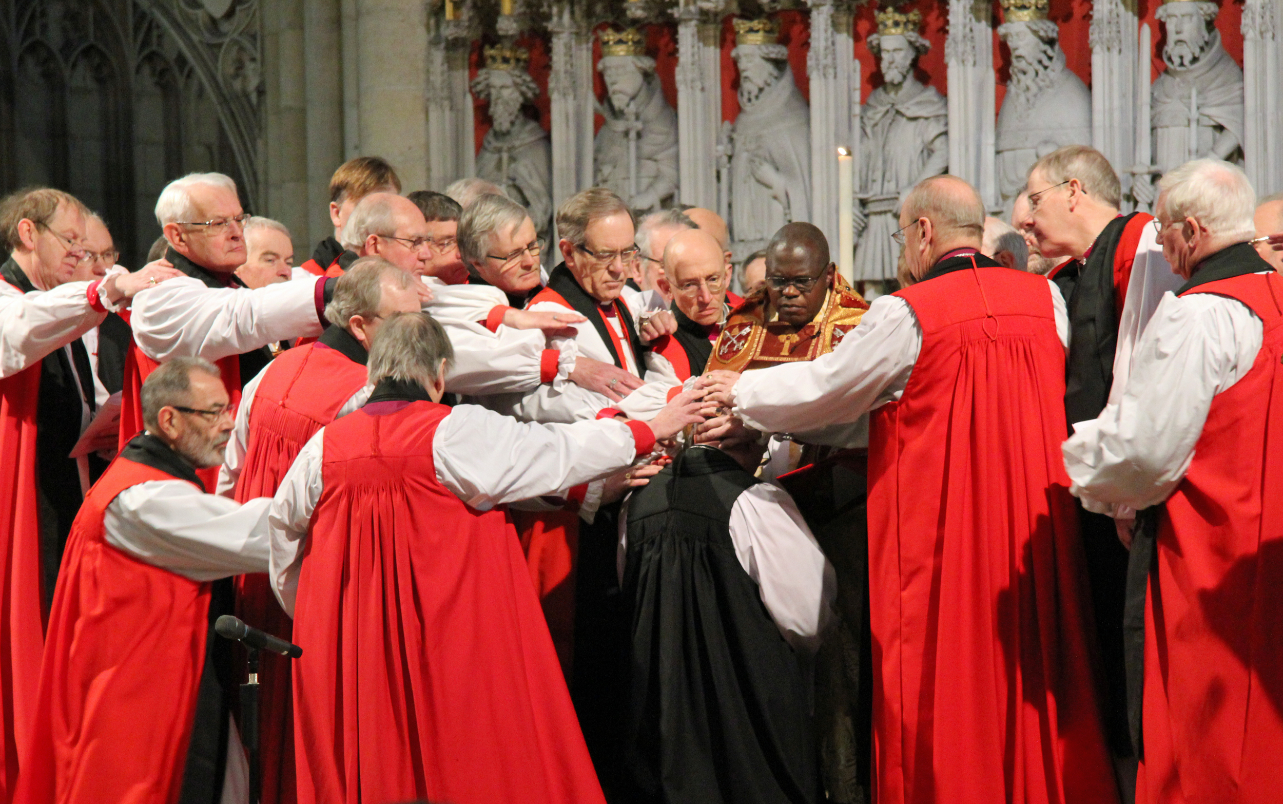 Notice anything odd about this picture?  (This is not Bishop North's consecration, btw)