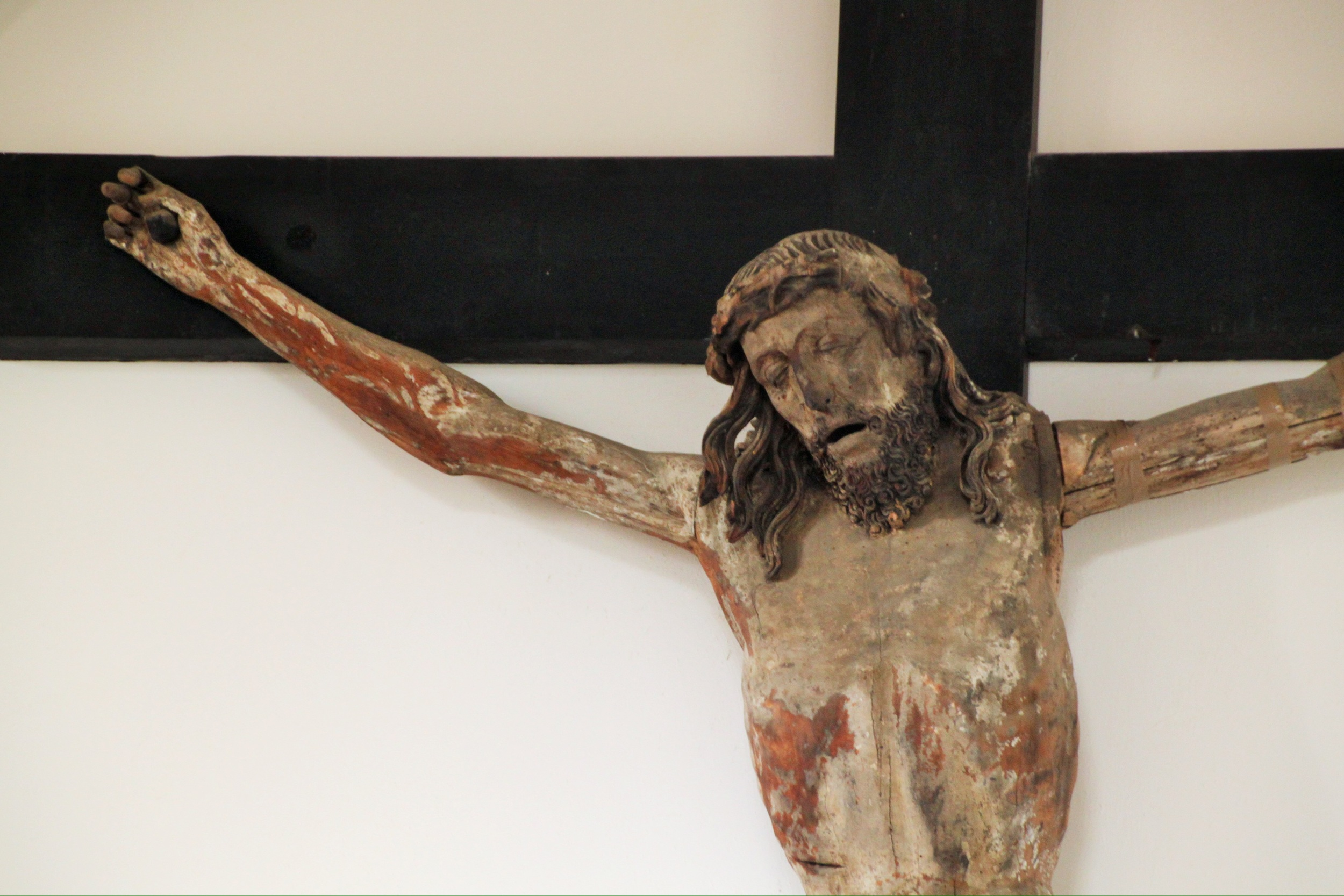 Christ at Arundel Castle: very God and very man.