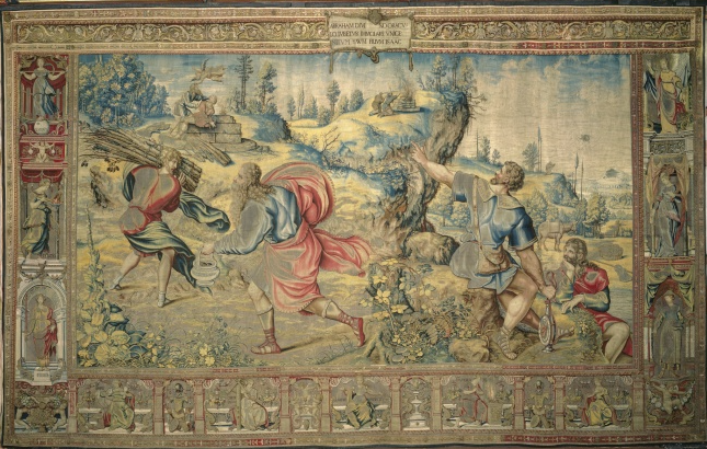 Tapestry by Peter Coeck Aelst