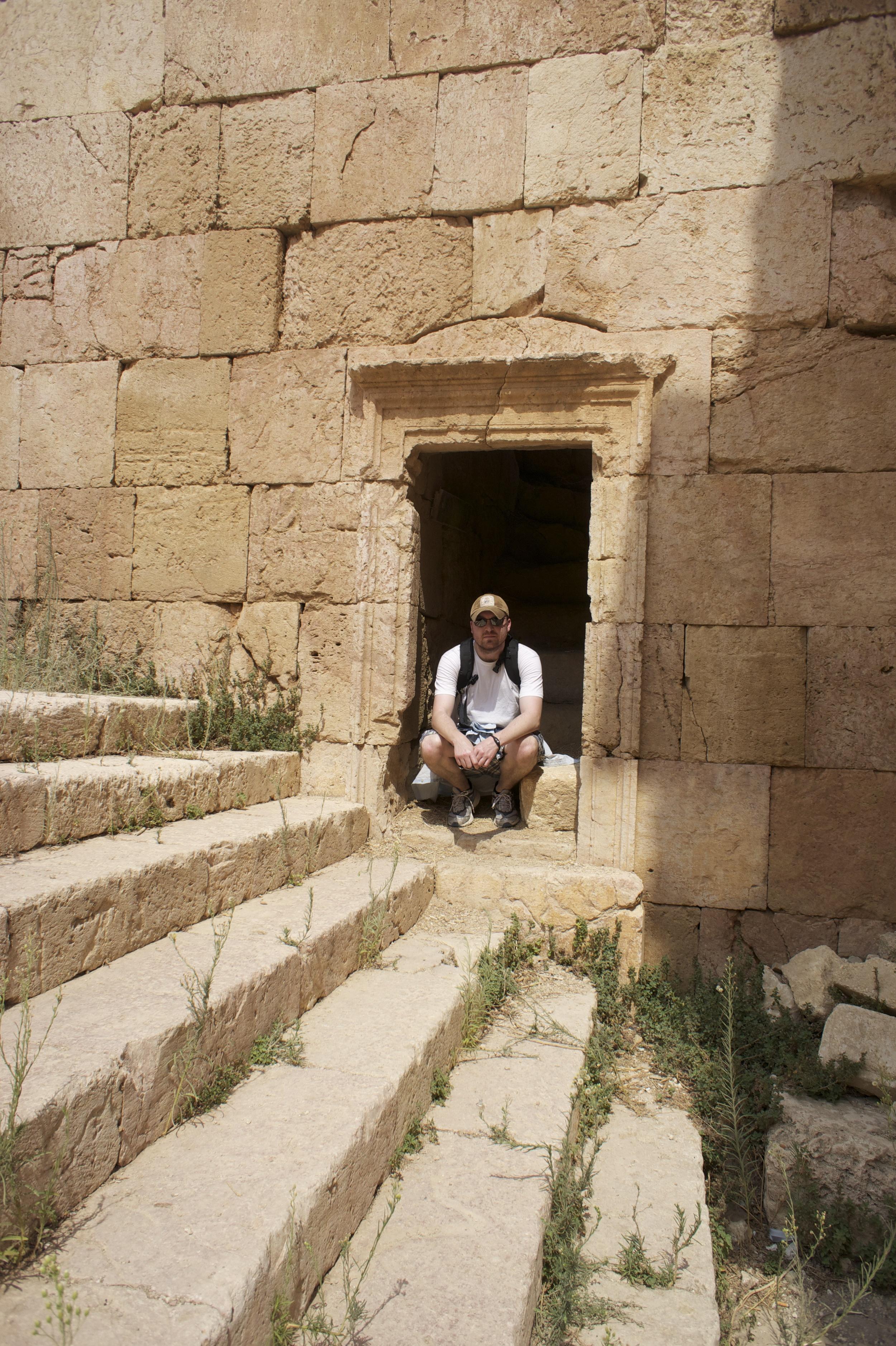 Taking a Rest in Jordan