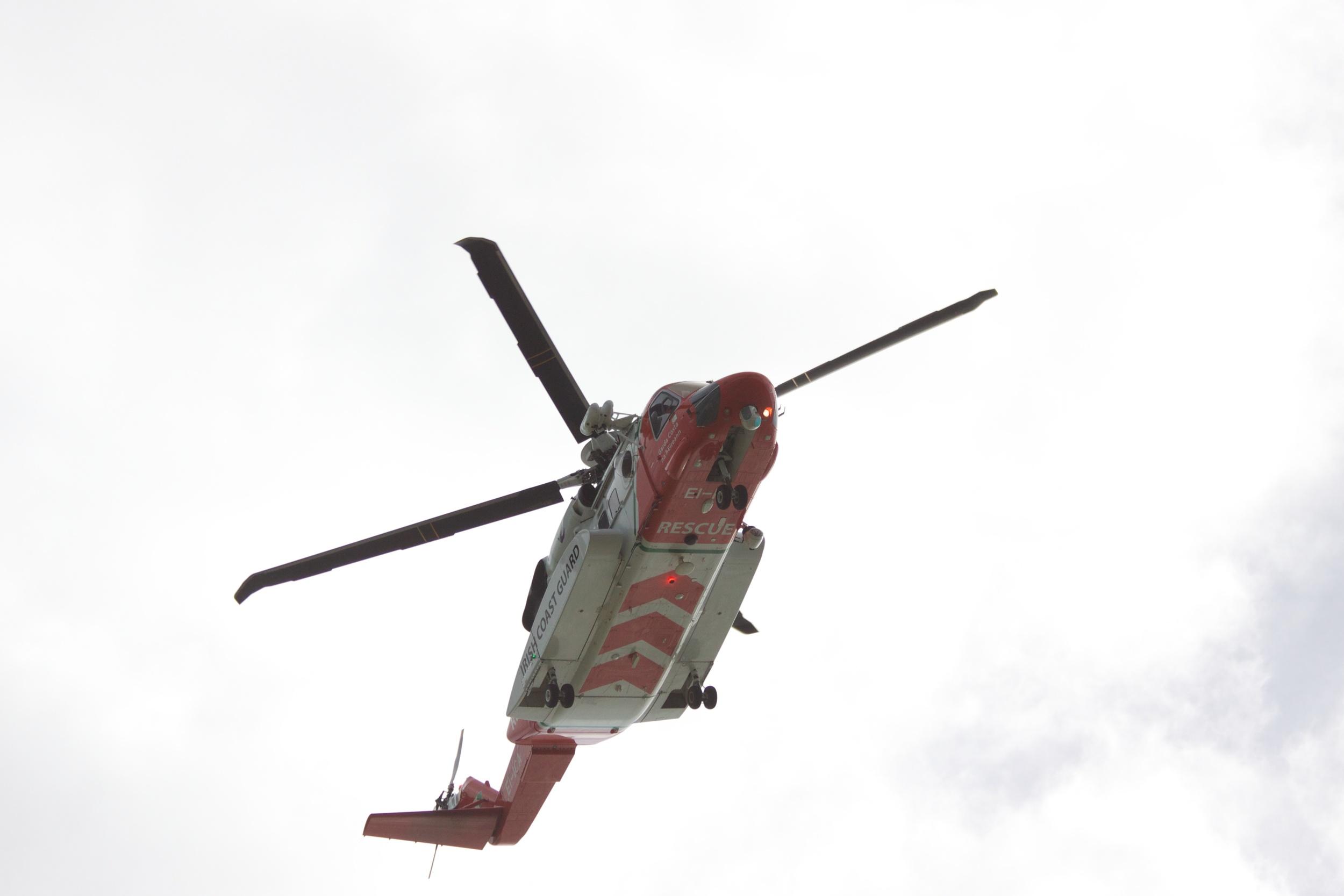 Irish Coast Guard Helicopter R116