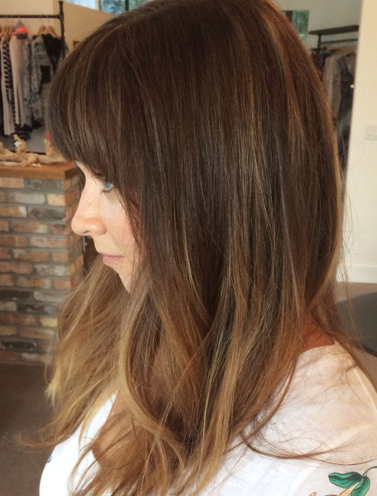 highlights done with foils and hair painting/ balayage. Beautiful bronde