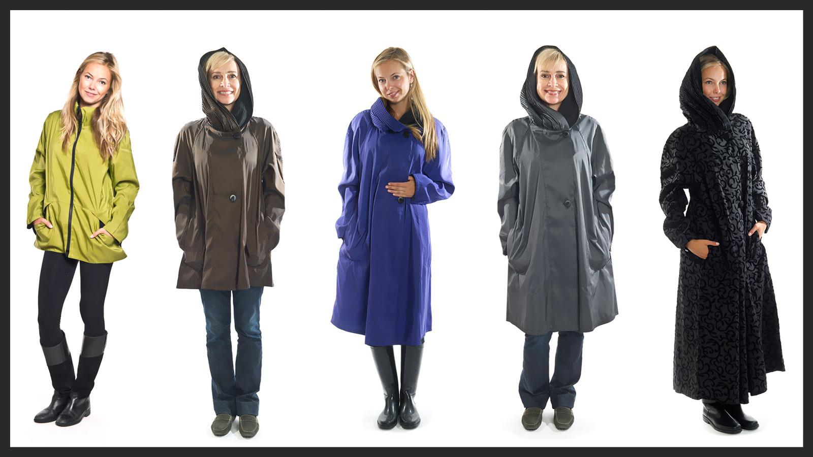Mycra Pac raincoats and rain gear travel information