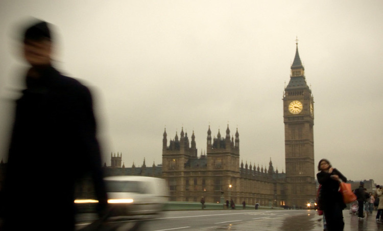 London on a rainy day